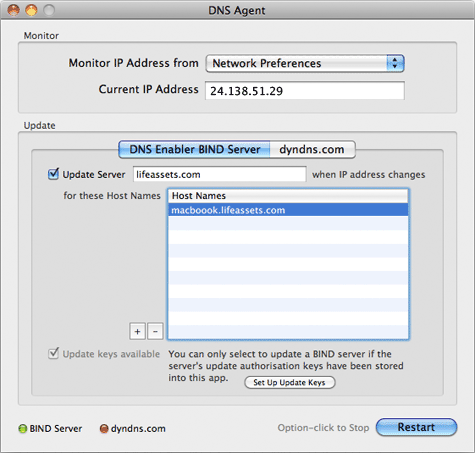 DNS Agent for Mojave