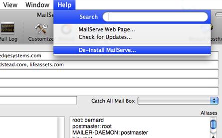 MailServe Pro for Leopard • Owner's Manual